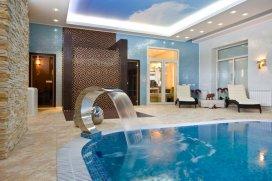 Бассейн в гостевом доме | Архитектурная студия Понизовкиных