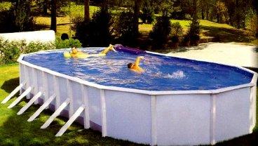 Cборный бассейн Эсприт (Esprite) и каркасный бассейн Эсприт Биг