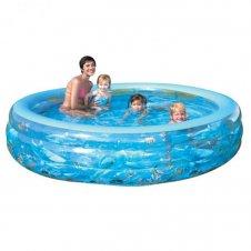 Детский бассейн Bestway надувной Делюкс Кристалл | Отзывы покупателей