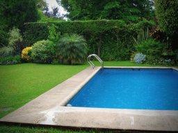 Фото — Оформление бассейна на даче