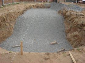 Как построить бассейн на даче :: как сделать площадку под бассейн