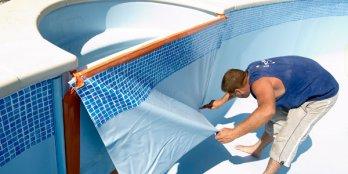 Пленка для бассейнов: характеристики, преимущества, монтаж