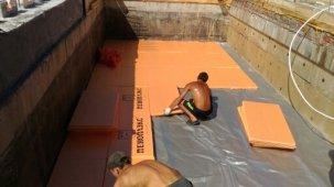 Поэтапное строительство бассейна