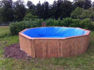 Самодельный бассейн из деревянных поддонов | Ежедневный мужской журнал