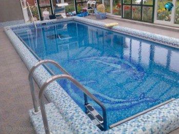 Строительство бассейна в доме поможет вам расслабться и вы поймете