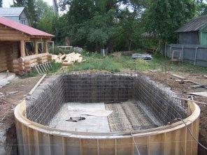 Строительство чаши бассейна по технологии «Белая ванна» | My test site