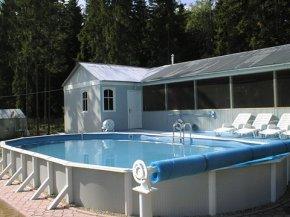 Строительство сборных каркасных бассейнов, купить бассейны