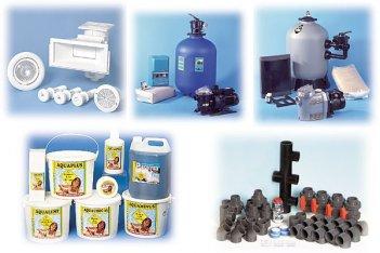 Типы оборудования для бассейнов